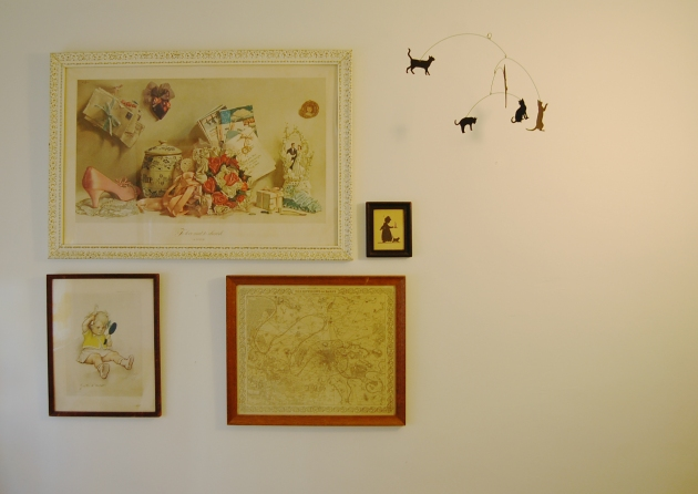 estelles room gallery wall