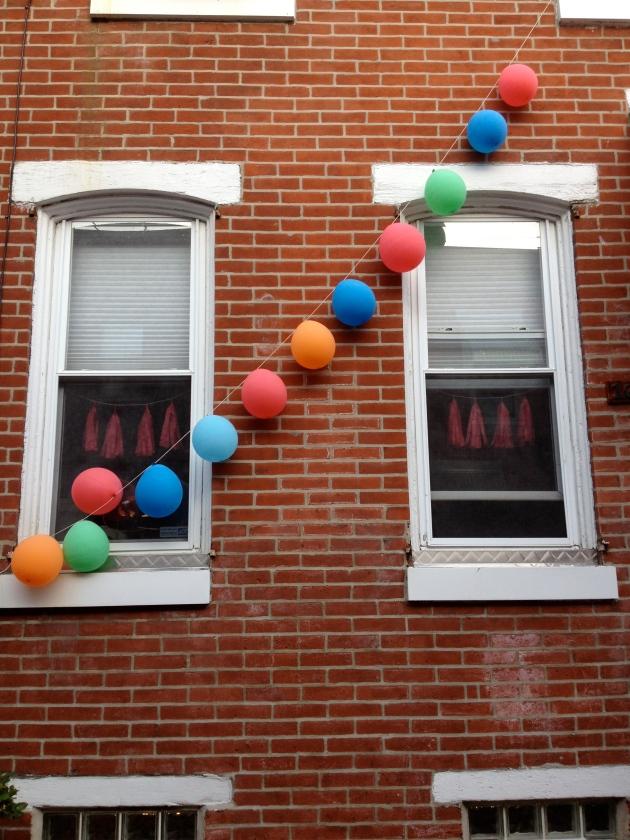 balloon penant